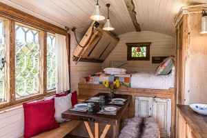 The Build Upcycled Materials Nightingale Shepherds Huts
