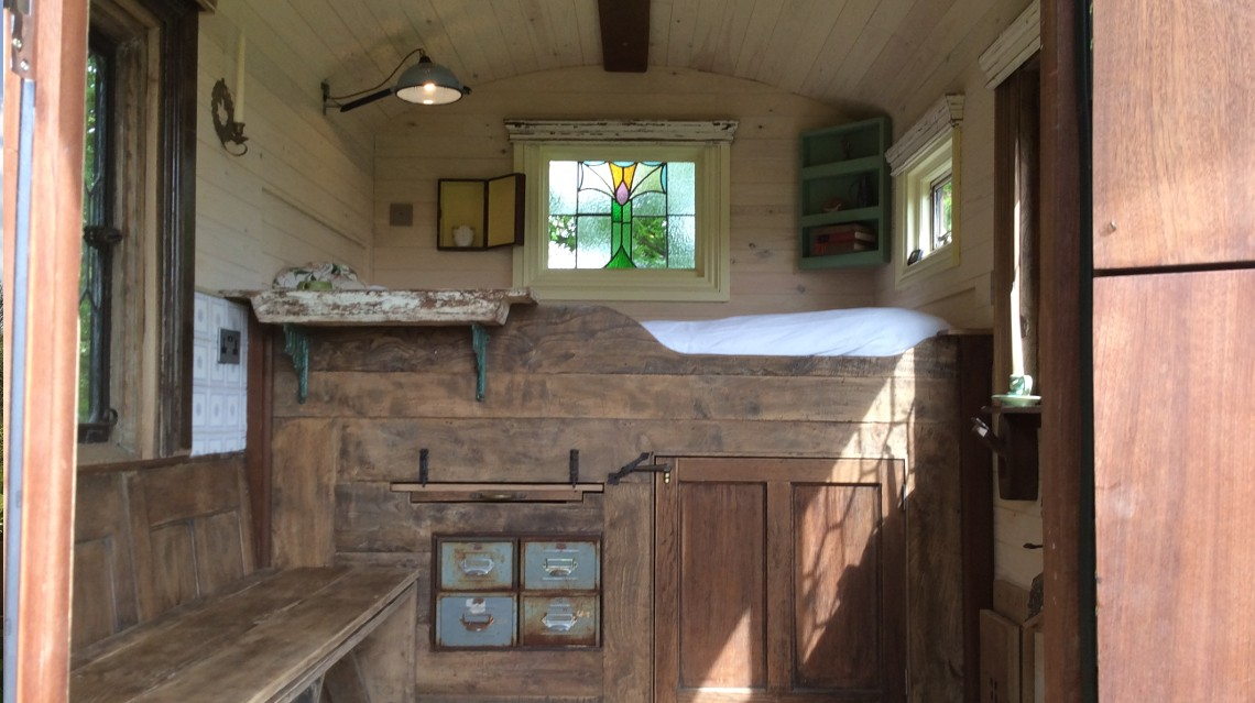 One of the 8 most wonderful shepherd huts in the UK
